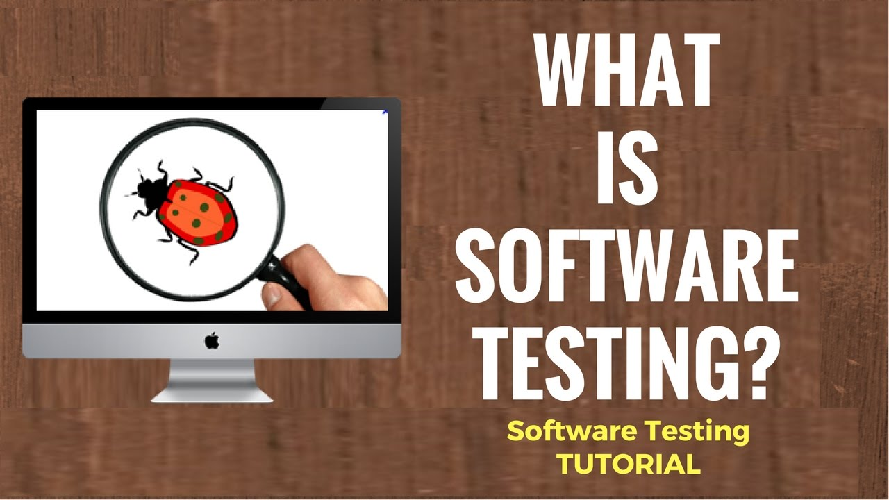 whats is software testing