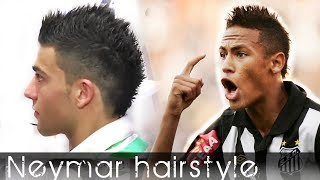 Men's hair - Neymar inspired hair style - from Cristiano Ronaldo hair - Styling By Vilain