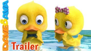 🐥Six Little Ducks – Trailer | Kids Songs & Nursery Rhymes from Dave and Ava🐥