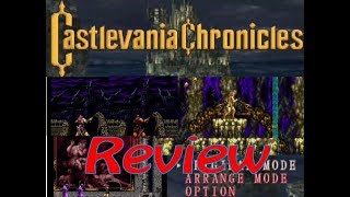 Castlevania Chronicles (PS1) Review