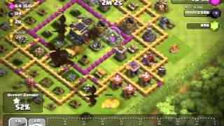 Clash of Clans | Testing out Jennifuh's TH9 Trophy Layout (Defense