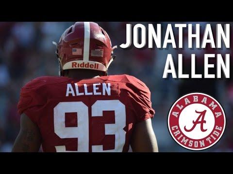 "Jonathan Allen || ""Defensive Nightmare"" || Alabama Highlights"