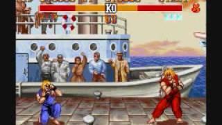 Street Fighter II Turbo-Ken Playthrough 2/3 thumbnail