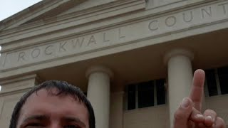 Rockwall County Courthouse - Rescheduled Again