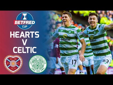 Hearts 03 Celtic  Ryan Christie comes on to guide Celtic to Cup final  Betfred Cup