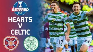 Hearts 0-3 Celtic | Ryan Christie comes on to guide Celtic to Cup final | Betfred Cup thumbnail