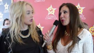 Devore Ledridge talks to Terri Marie at Cerlebrity Connected for MTV Awards.