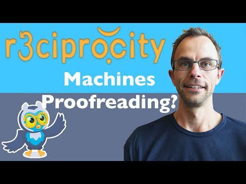 When Will Proofreading Be Automated By Machines?