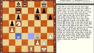 Chess Game: Sergey Karjakin (RUS) vs Shakhriyar Mamedyarov (AZE)