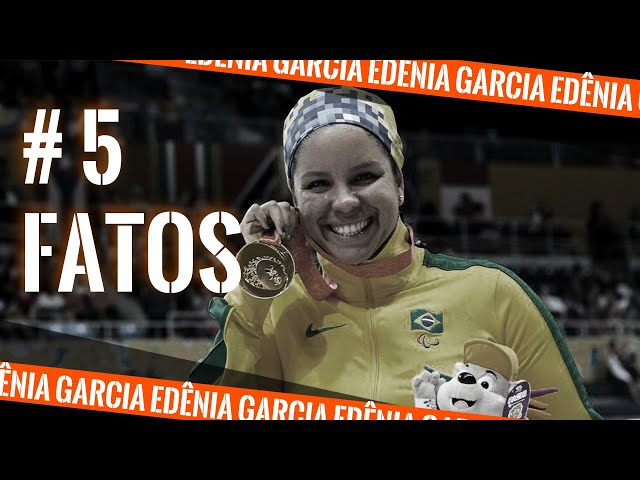 #5 FATOS que VOCÊ não SABIA sobre Edênia Garcia, da Natação Paralímpica!