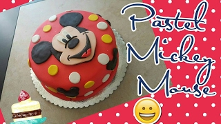 Decorar Pastel Mickey Mouse con Fondant