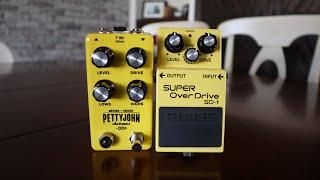 The PettyJohn Electronics ODI (ODIE) vs The Boss SD1. Presented by AJL music!
