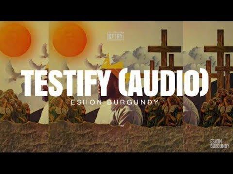 Reformed Theology Eshon Burgundy- Testify  Calvinism