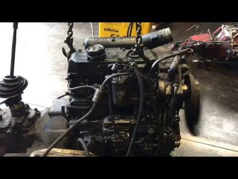 Motore Mercedes 709 OM364