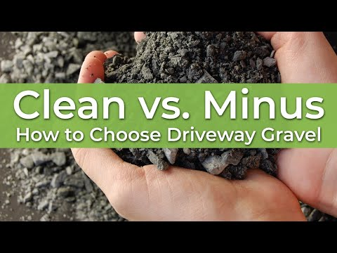 Crushed Clean vs. Crushed Minus Rock