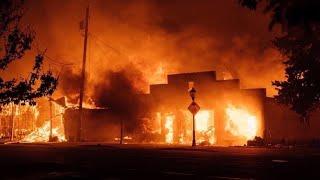 My Hometown in Flames - The Almeda Fire, Phoenix Oregon, 2020