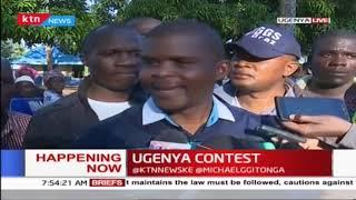 Ugenya by-election: ODM\'s Chris Karan casts his vote