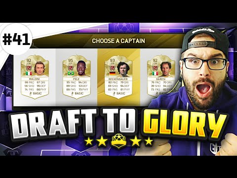 BEST LEGEND EVER!! - Draft to Glory #41 - FIFA 16 Ultimate Team