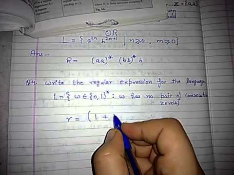 Regular expression example 4