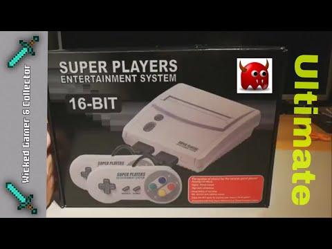 Super Mini Sfc Snes Mini Clone Console 621 In 1