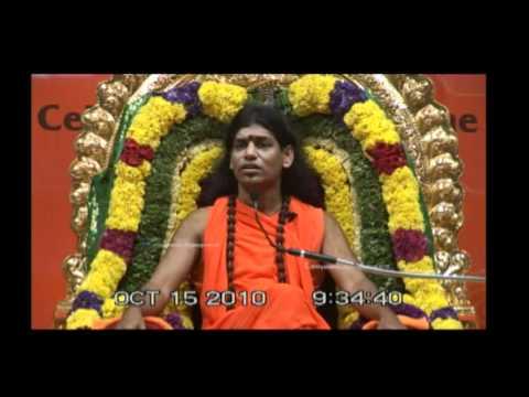 Karma and Healing: Nithyananda Morning Message (15 Oct 2010)