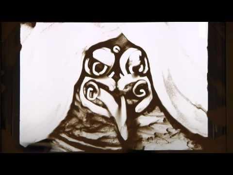 Maori Creation Story in Sand Art
