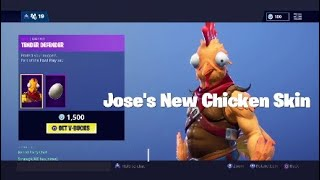 FORTNITE BATTLE ROYAL//JOSE'S NEW SKIN//NOOB KILLS ME WITH DYNAMITE//
