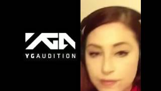 My yg audition for super bass by nicki Minsk
