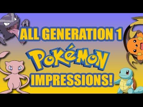 Impressions of ALL Original 151 Generation 1 Pokemon!
