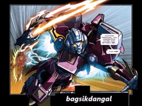 IDW:Arcee Vs Ultra Magnus!From Spotlight Arcee!