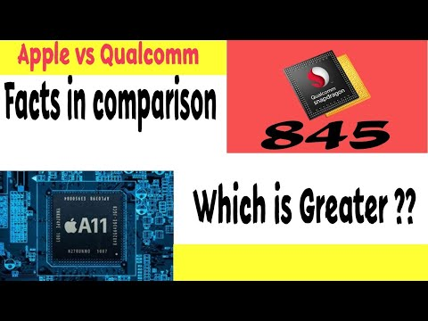 Apple A11 bionic vs snapdragin 845 comparison | Why A11 bionic is greater ?? |