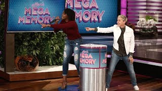 Ellen's Fans Take On 'Mega Memory'