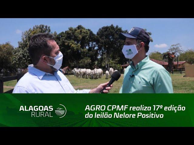 AGRO CPMF realiza 17º edição do leilão Nelore Positivo