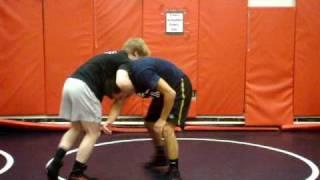 Joe Kemmerer Clinic - Front headlock to far leg cradle