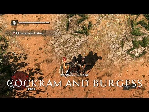 Black Flag - 'Double Assassinate Cockram And Burgess' Guide