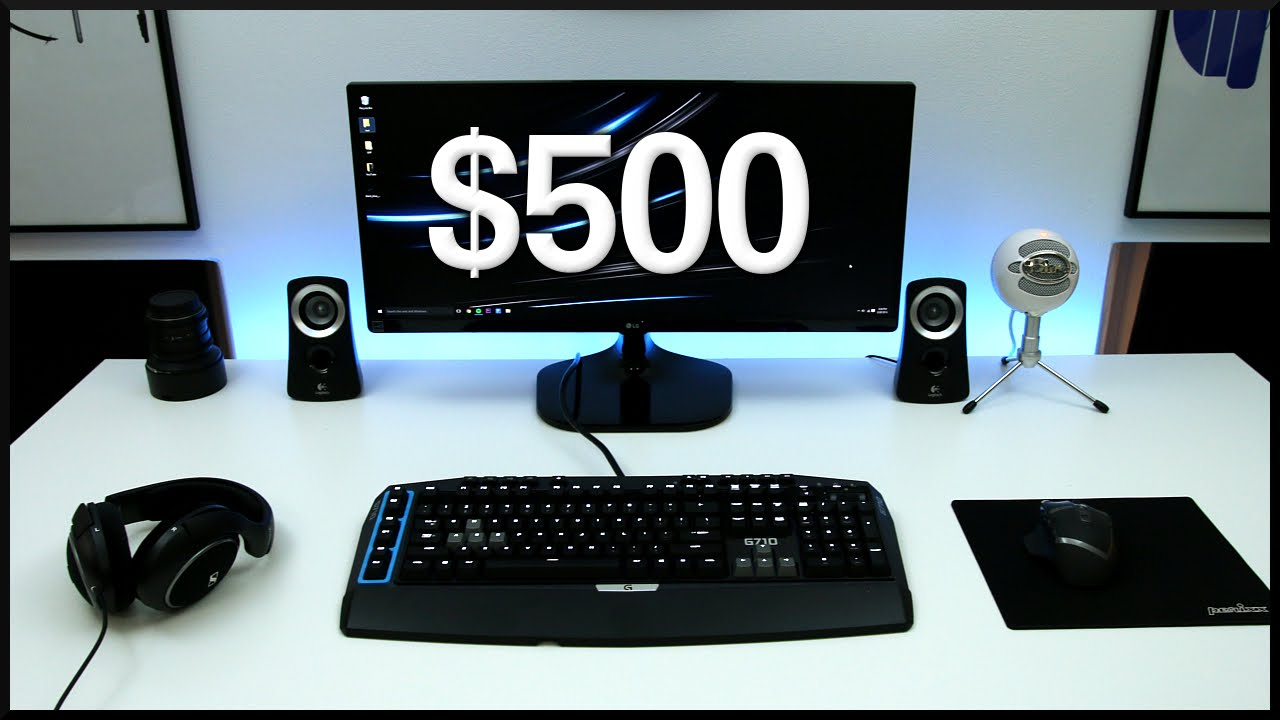 Best Gaming Youtube Setup For 500 Youtube