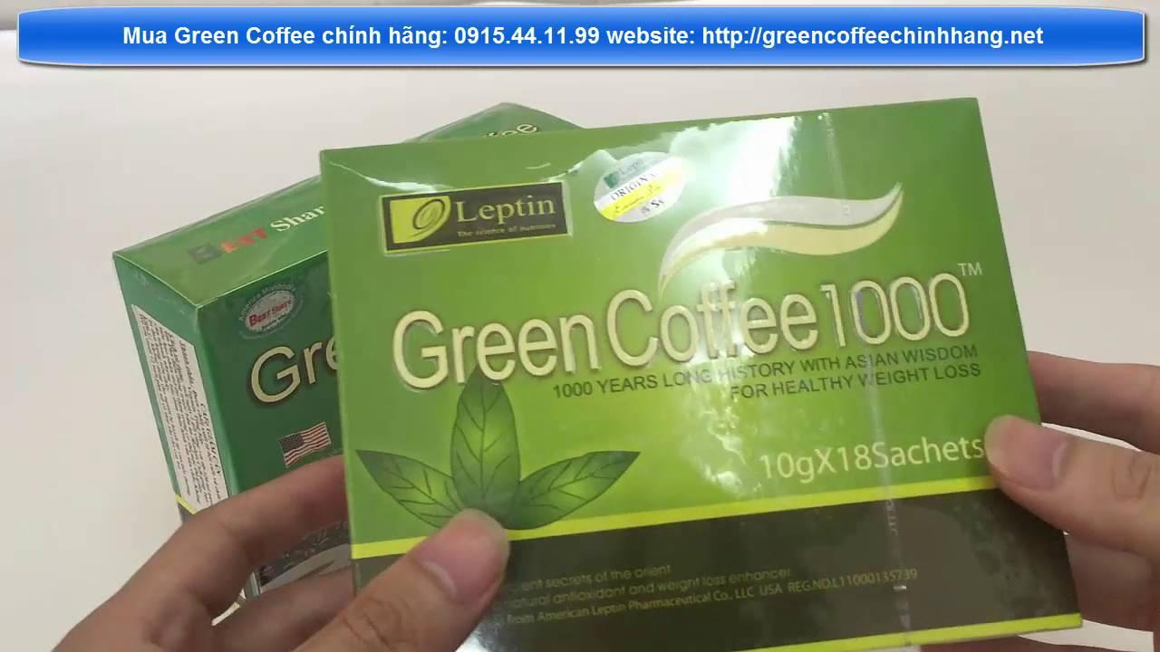 Green coffee thật