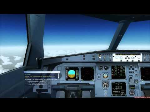 Full Flight Cockpit Swiss A330-300 Phuket - Bangkok