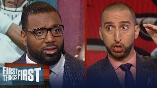 Chris Canty's keys to Sunday's Panthers - Falcons matchup | NFL | FIRST THINGS FIRST