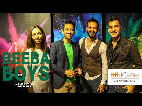 Beeba Boys  Ali Kazmi, Ali Momen, Gia Sandhu & Gabe Grey  TIFF 2015  Press Conference