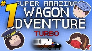 Super Amazing Wagon Adventure Turbo: Hold On - PART 1 - Steam Train