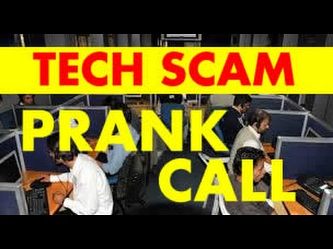 Microsoft Windows Support Tech Scam PRANK CALL!