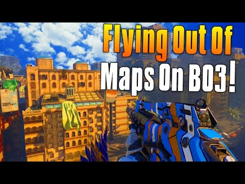 FLYING OUT OF MAPS ON BO3! (Black Ops 3 Knife Lunge) Funny Moments, Sniping, Competition - MatMicMar
