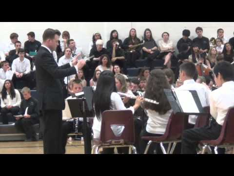 Hollis Brookline Middle School District Concert @ HBHS