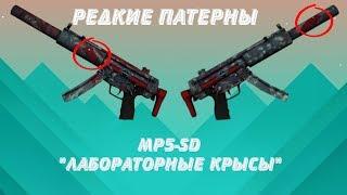 Редкие патерны MP5-SD лабораторные крысы