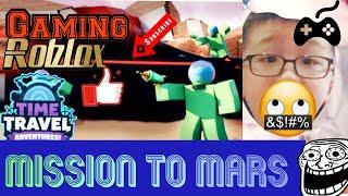 ROBLOX Gaming - France Jouer à Time Travel Adventures (en anglais seulement) Mission vers Mars