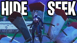 HIDE & SEEK #9 MINI-GAME!  - Fortnite: Battle Royale Playground (Nederlands)