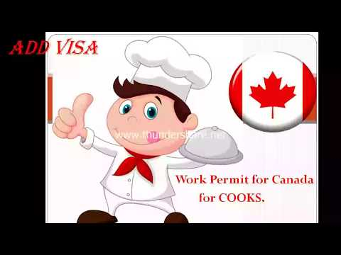 Work Permit For Cook In Canada