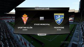 Футбол Sporting de Gijón Испания Frosinone Италия Виртуальный Кубок 1 8 финала FIFA