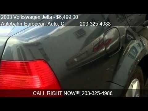 2003 Volkswagen Jetta GLX VR6 for sale in Stamford, CT 06902